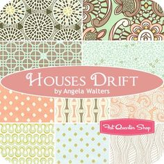 Houses Drift Fat Quarter BundleAngela Walters for Art Gallery Fabrics - Fat Quarter Bundles   Fat Quarter Shop