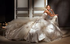 1975 Eve of Milady bridal gowns | Eve of Milady wedding gowns are created with all the grandeur and ...