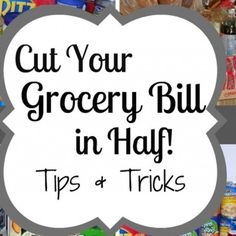 Groceries are a big expense. You can't cut back on feeding your family. There are agencies that can be called if you do that. So, if you want to spend less (and, who doesn't?) you have to be crafty and search for any little way to shave off a few cents. I love to cook in bulk. I feel like it...