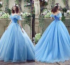 Fairy tales dream Cinderella dress evening dress PROM formal occasions dress