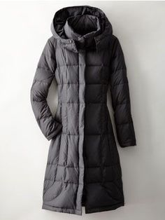 Not this exact one, but I'd like a high collared puffer coat in black for my long winter commutes! Waterproof and feather ideally but not 1000% as long as warm. MUST have high collar