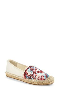 Tory Burch '3D' Espadrille Flat (Women) available at #Nordstrom