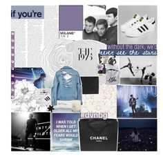 """""""MOONDUST IN YOUR LUNGS"""" by spacecafe ❤ liked on Polyvore featuring Assouline Publishing, Kenzo, Frette, Blink, High Heels Suicide, Chanel, Le Labo, ASOS, vintage and dvsnbg"""