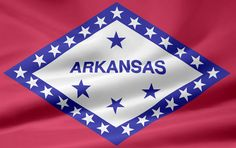 Arkansas flag image.