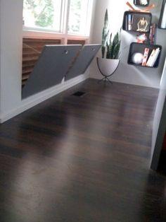 Toklo Espresso Laminate Flooring White Trim Entryway Ideas