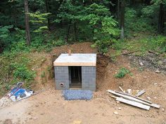 Old Style Root Cellar - Roof on from above by Neuheimer, via Flickr