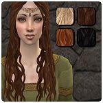 Mod The Sims - Kaya's Hair - Xm Sims Recolour