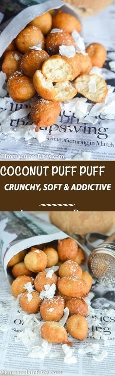 Puff-puff  is  a West African traditional fried dough that is sold in every neighborhood, on street corners, in West Africa. They are  impossible to resist once you take a bite. It is comparable to yeast doughnuts with less sugar and with a sort of fermented yeast taste. If you were to vote on the most popular West African snack, …