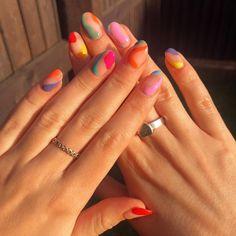 Gel Nails, Acrylic Nails, Manicure, Acrylics, Almond Nails Designs, Nail Designs, Lynn Nails, Nail Colors, Colours