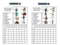 12 Spanish Jobs and Professions Vocabulary Puzzles; Lots of Uses