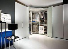 Cabina armadio angolare   интерьер, дизайн   Pinterest   Ale ...