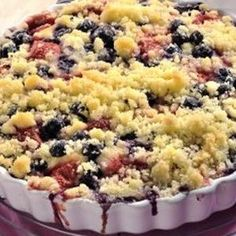 jogurtovy kolač s ovocem Sweet Recipes, Macaroni And Cheese, Tart, Aloe Vera, Recipies, Muffin, Food And Drink, Cooking Recipes, Yummy Food