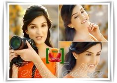 Shiny doshi advertising camera!