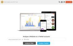 Metric Spot Analyse complète de votre site ou de votreTwitter