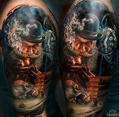 Tattoo by Tattoo Studio Suvorov