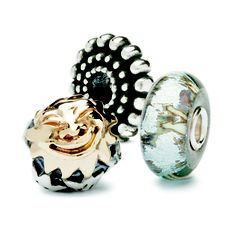 This is such a happy photo of Trollbeads and 3 of the best!