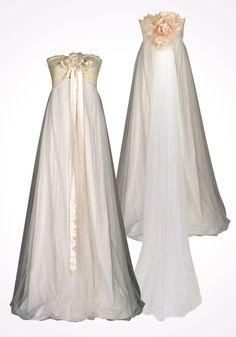 Claire Pettibone Larissa dress.