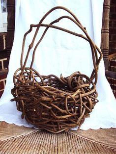 Willow Basket Handmade
