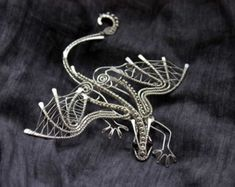 wire wrapped dragons - Google Search