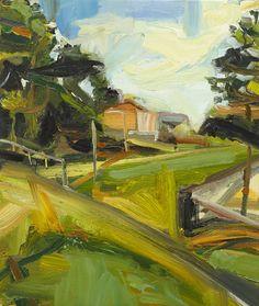 © Robert Malherbe ~ Small Paintings  Harvest at Tim Olsen Gallery Sydney Australia ~ 2 April - 26 April