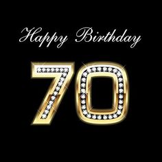 Illustration of Happy Birthday vector art, clipart and stock vectors. 70th Birthday, Happy Birthday Wishes, Birthday Greetings, Beautiful Birthday Cards, Logo Creation, Healthy Oils, Banner Printing, Birthday Photos, Birthday Ideas