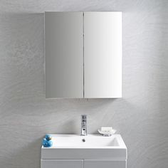 Maxi Mirrored Cabinet   bathstore