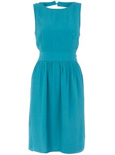 Teal crepe midi dress        Price: £32.00      Colour: Blue      Item code: 07973628