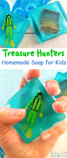 Treasure Themed Recipe Homemade Soap for Kids, Easy Homemade Soap Recipe for Kids,