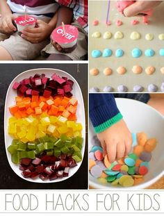 18 food hacks and diy tips that will make snack time for kids so much more fun!