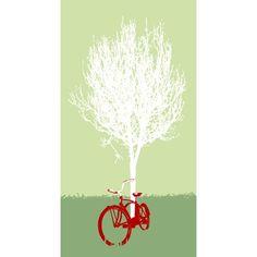 Resting Bike - Screen Printed Poster