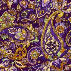 purple paisley Paisley Drawing, Paisley Art, Paisley Fabric, Paisley Design, Paisley Pattern, Textiles, Zentangle, Vera Bradley Patterns, Acid Art