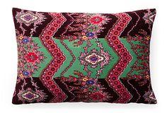 Virsky 12x18 Pillow, Red on OneKingsLane.com