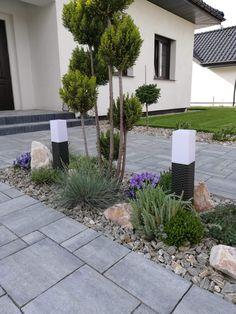 Back Garden Design, Modern Garden Design, Backyard Garden Design, Front House Landscaping, Backyard Landscaping, Front Gardens, Small Gardens, House Landscape, Landscape Design