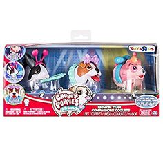 Chubby Puppies and Friends Fashion Team Set (Dutch Rabbit, Jack Russell Terrier, and Cotton Candy Panda) Girl Toys Age 5, Toys For Girls, Chubby Puppies, Dutch Rabbit, Chubby Fashion, Spiderman Art, Friends Fashion, Jack Russell Terrier, Paw Patrol