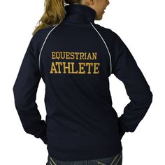 Equestrian Athlete Embroidered Jacket from Zazzle.com-anyone know if Zazzle is a legit site???