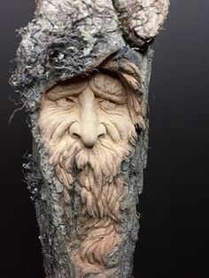 Wood Spirit Wood Carving Handmade Woodworking by JoshCarteArt