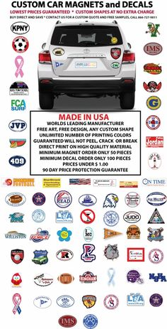 Get Unique And Attractive Custom Car Magnets From SteelBerrycom - Custom car magnets bumper