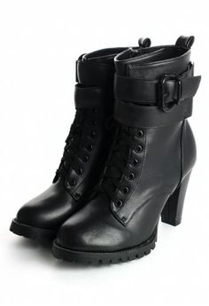 Zip Up/Lace Up Boots