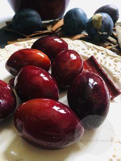 Bigos z kiszonego buraka Preserves, Plum, Dips, Recipies, Cherry, Food And Drink, Homemade, Meals, Fruit
