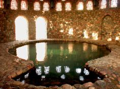 Moses Bath or Hammam Moussa in Sinai -  Egypt