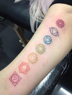 chakra symbol tattoo - Google Search