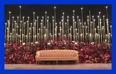 24 Gorgeous Wedding Stage Decoration Ideas & Themes That Will Leave You Speechless! 24 Gorgeous Wedding Stage Decoration Ideas & Themes That Will Leave You Speechless!This Wedding Season Let's Create Magic With Dazzling Wedding Stage Decorations, Engagement Stage Decoration, Reception Stage Decor, Desi Wedding Decor, Wedding Stage Design, Wedding Reception Backdrop, Marriage Decoration, Wedding Entrance, Backdrop Decorations