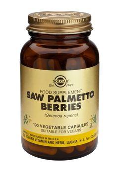 Saw Palmetto Berries FP - 100 vegetable capsules. Nutritional Supplements, Hyaluronic Acid, 30, Candle Jars, Vitamins, Berries, Vegetarian, Herbs, Health