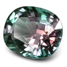Alexandrite!!! It's so awesome and definitely unexpected. I'm thinking of adding this to my wedding ring.