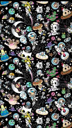 Tokidoki Wallpaper Impressive Wallpaper - New Wallpapers Emoji Wallpaper, Kawaii Wallpaper, Cute Wallpaper Backgrounds, Funny Wallpapers, Multimedia Artist, Doodle Art, Cute Art, Illustration Art, Doodles