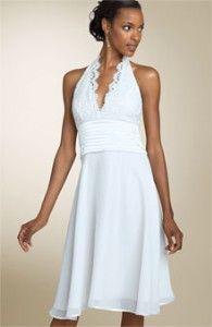 Wedding dress/ second wedding