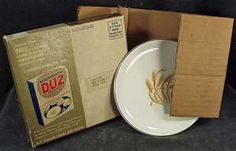 Dishes were given with purchase of dish detergent....golden wheat pattern. We had the whole set!