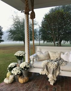 Porch swing, outdoor swing