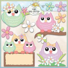 Paper Owl,Owl Die Cut,Scrapbook Die Cut,Scrapbooking Die Cut,Owl Decoration,Owl Embellishment, Please visit my shop at https://www.etsy.com/shop/MyParfum, CUTE OWL DECORATIONS