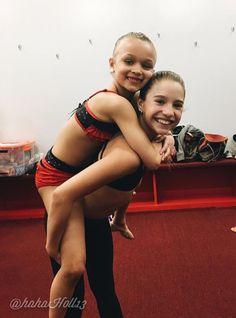 Added by #hahah0ll13 Dance Moms Mackenzie Ziegler and ALDC mini Peyton Evans
